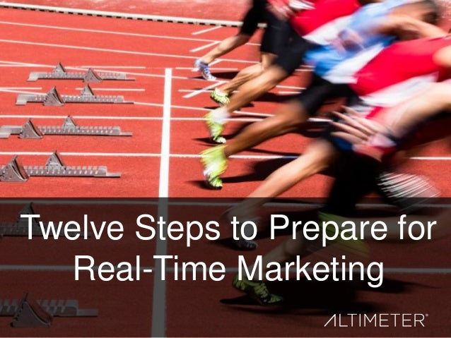 Twelve Steps to Prepare for Real-Time Marketing