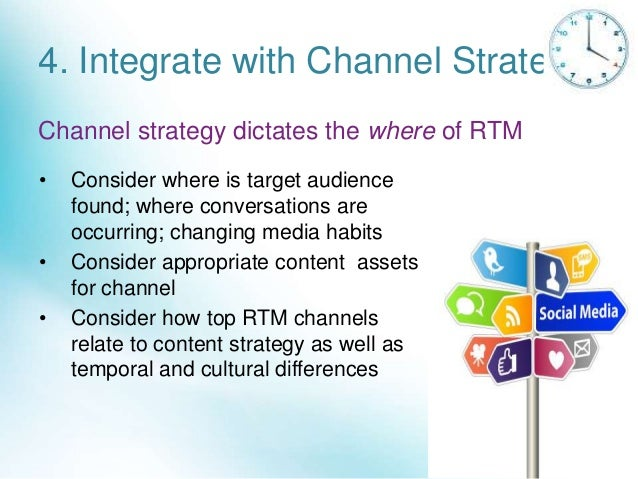 Most Critical Channels for Real-Time Marketing
