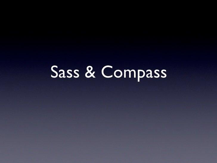 Sass & Compass