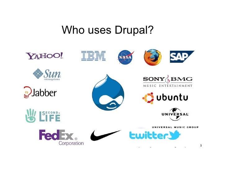 who uses drupal