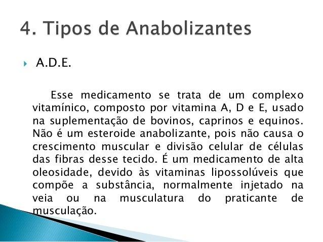 Uso de anabolizantes- Estudo de caso