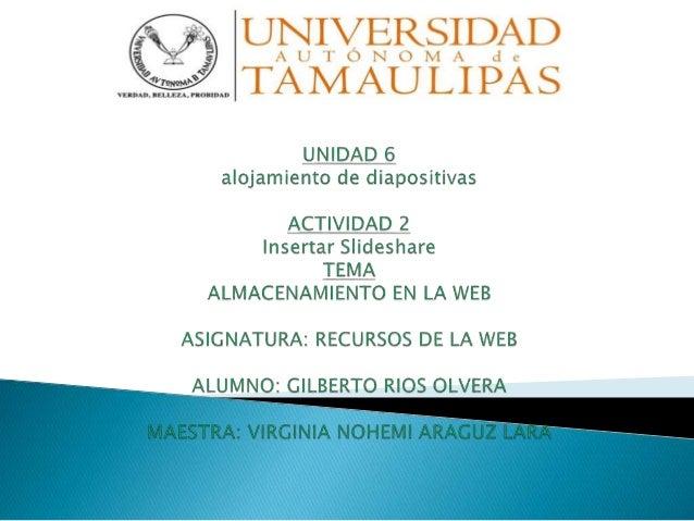  El almacenamiento en la web es el servicio que provee a los usuarios de Internet un sistema para poder almacenar informa...