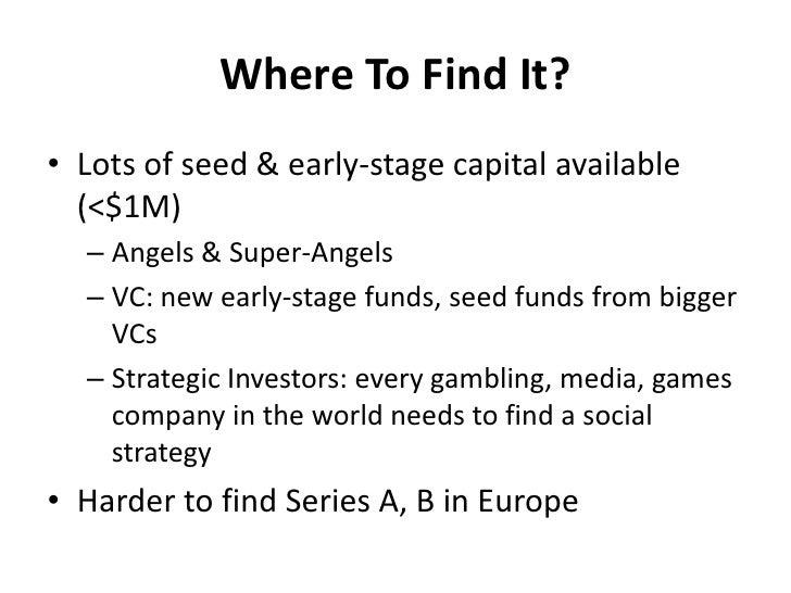 Social gambling meetup casino industry business cycle