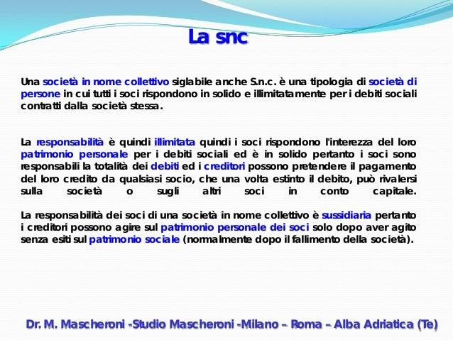 Societa per concorsi straordinari dott marino mascheroni for Mobilia nome collettivo