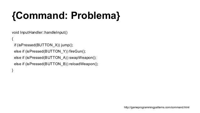 Programação de Jogos - Design Patterns Slide 3