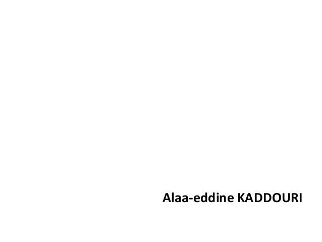 Alaa-eddine KADDOURI
