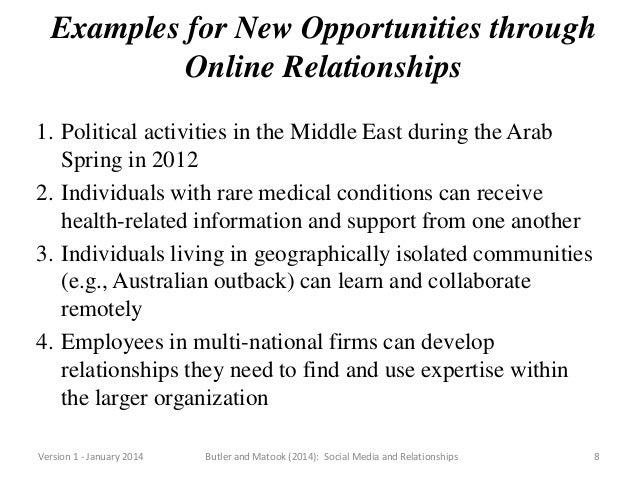 Social media and online dating in Australia