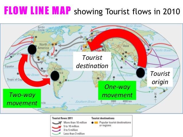 tourist flow