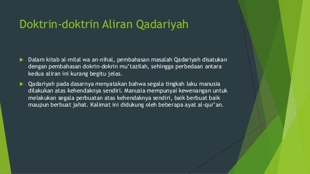 Aliran Jabariyah Dan Aliran Qadariyah