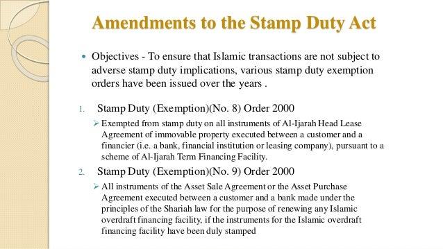 Tax Treatment On Islamic Finance In Malaysia