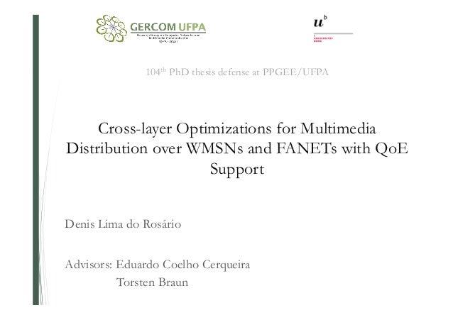 Multimedia phd thesis
