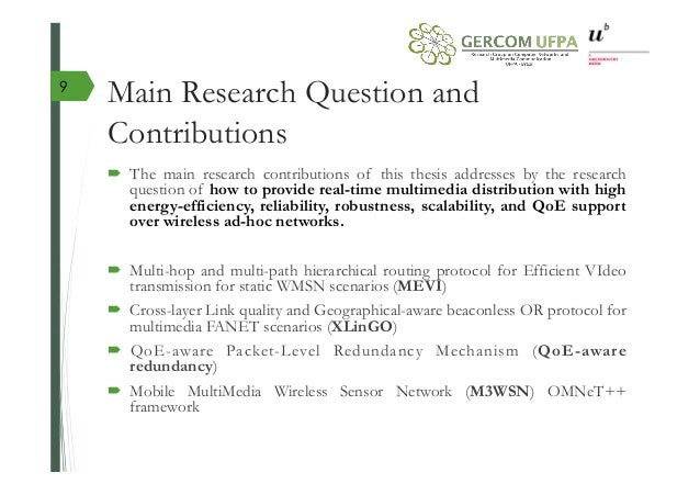 Research questions for phd thesis corrig dissertation philosophie terminale