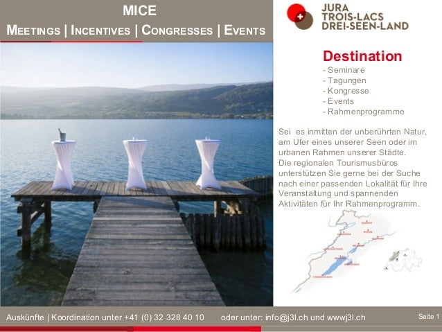 MICE MEETINGS | INCENTIVES | CONGRESSES | EVENTS Seite 1 von 3 Destination - Seminare - Tagungen - Kongresse - Events - Ra...