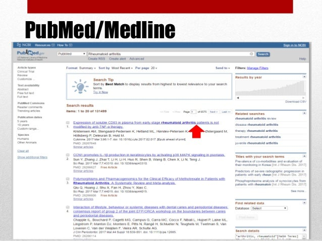 MeSH in The Cochrane Library