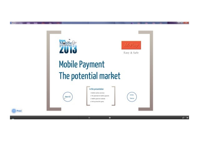 [Vietnam Mobile Day 2013] - Mobile Payment - The Potential Market