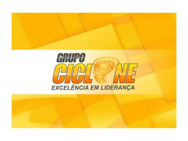 Apresentaçao Rede Tripe Ciclone