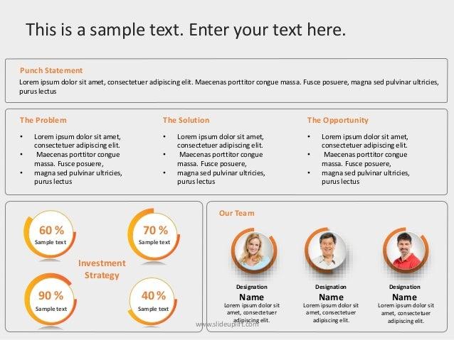 Slideuplift Executive Summary Powerpoint Templates Executive Summ
