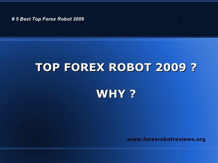 Top 5 free forex robot