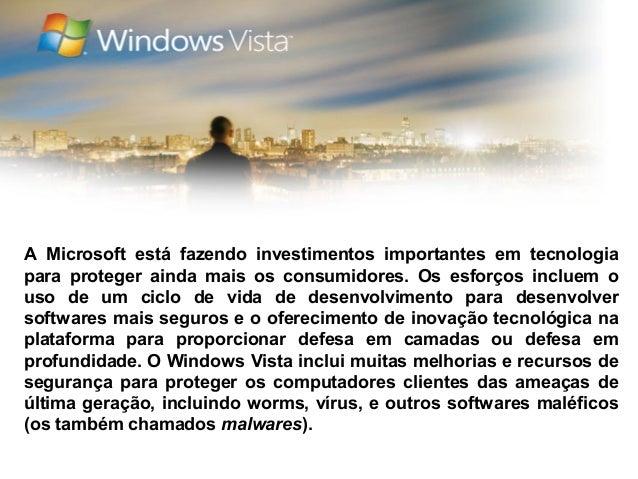 A Microsoft está fazendo investimentos importantes em tecnologiapara proteger ainda mais os consumidores. Os esforços incl...