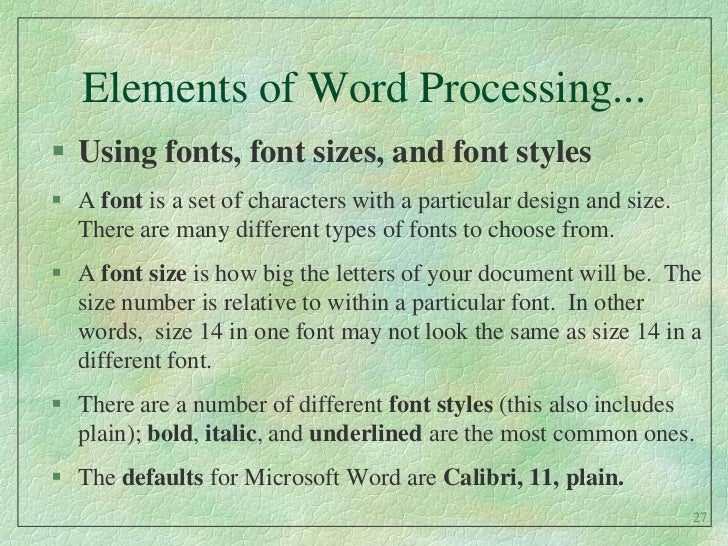 how to get clear fonts with elements 14 essentials