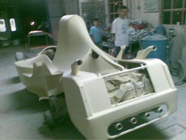 Homemade Formula 1 Car