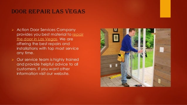 4. Door Repair Las Vegas Ø Action ...