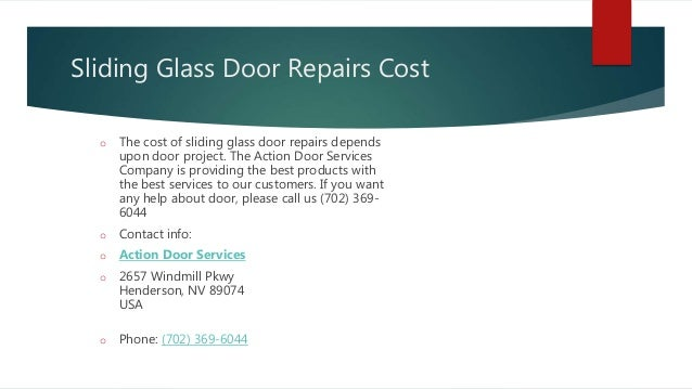 Sliding Glass Door Roller Repair