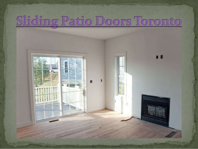 Sliding Patio Doors Toronto
