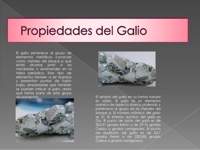 13 el galio pertenece al grupo de elementos - Tabla Periodica De Los Elementos Galio