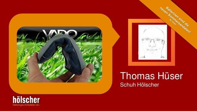 Thomas Hüser Schuh Hölscher