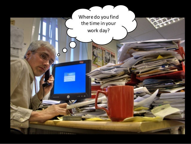 Where  do  you  find   the  time  in  your   work  day?