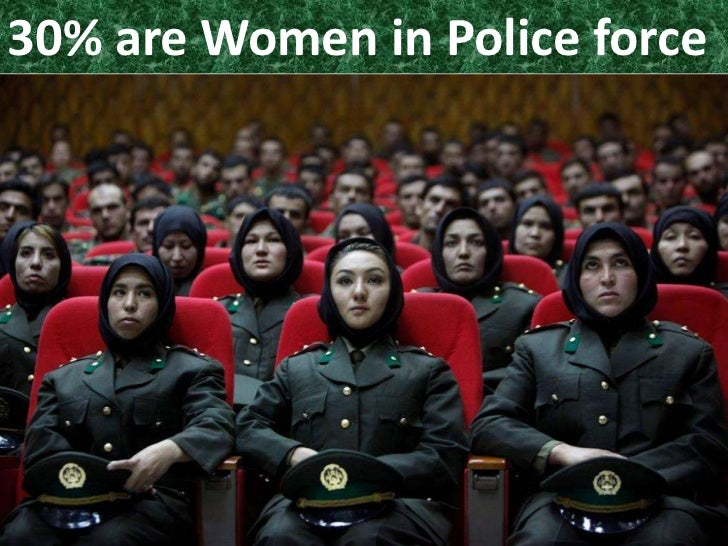 30% are Women in Police force