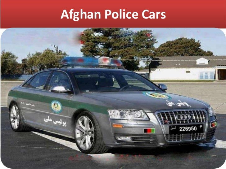 Natural Gas Police Cars