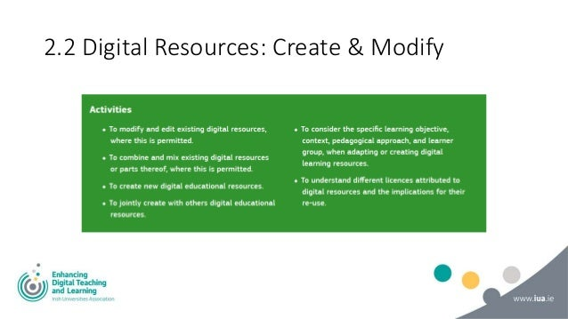 2.3 Digital Resources: Manage, protect & share