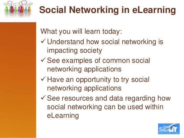 Social eLearning - SIDLIT Slide 2