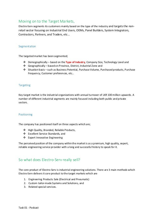 assignment on marketing plan for a new product ppt