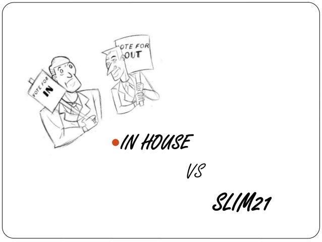 Project Report on Slim 21Software PPT Slides