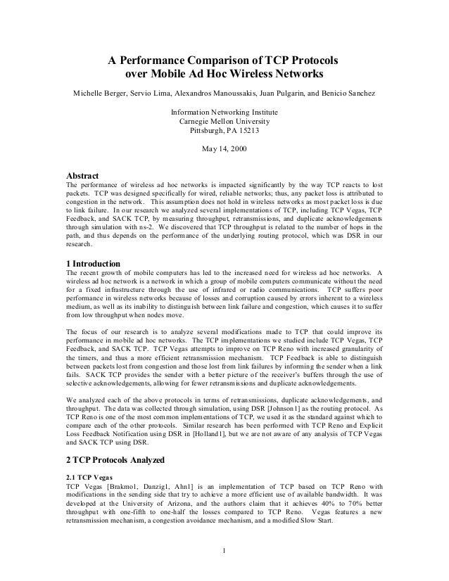 how to improve tcp performance in A survey on improving tcp performance over wireless networks xiang chen, hongqiang zhai, jianfeng wang and yuguang fang dept of.