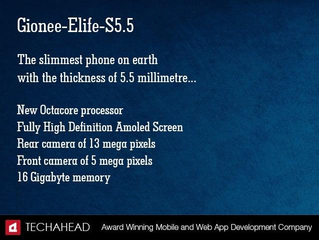 Top-Notch Slimmest Smartphones on Earth