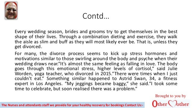 Contd… Every wedding season, brides and grooms try to get themselves in the best shape of their lives. Through a combinati...