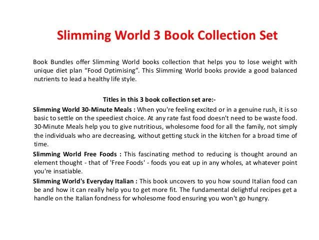 Slimming world free foods amp everyday italian 30 minute