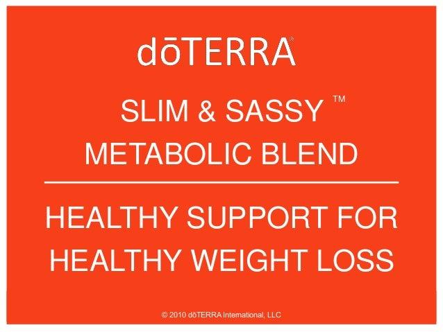 Slim Sassy Weight Management Ppt 1
