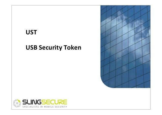 UST   USB  Security  Token