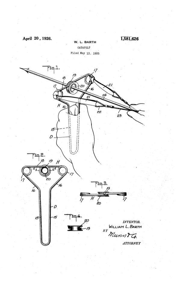 Sling Shot Patent Drawings
