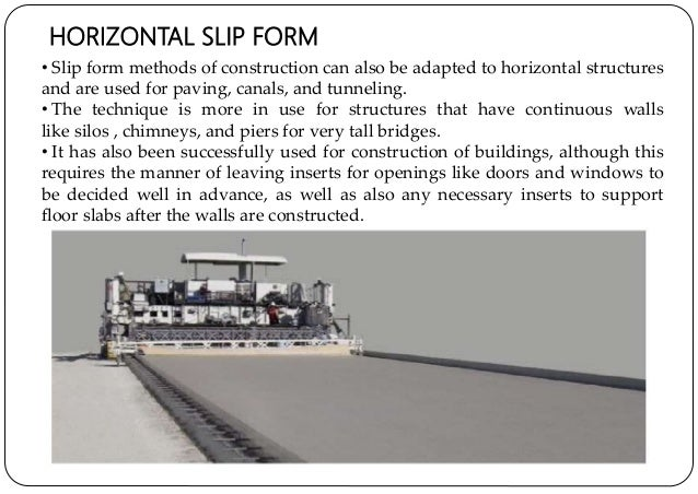 Slip Form Construction Technology