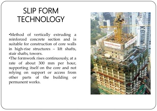 Slip Form Construction Technology