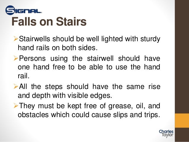 Slips Trips And Falls By Signalmutual