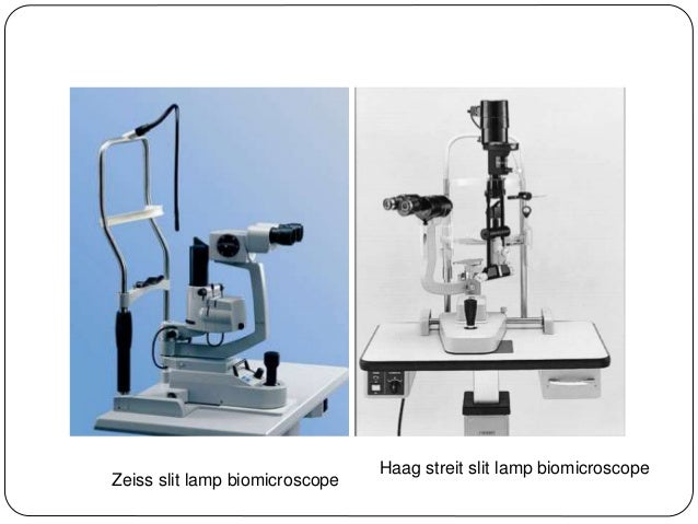 Slit Lamp Biomicroscopy