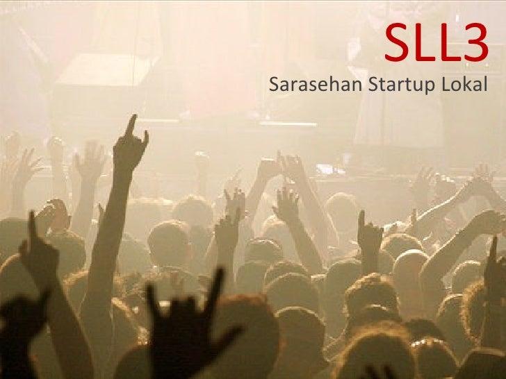 SLL3 Sarasehan Startup Lokal