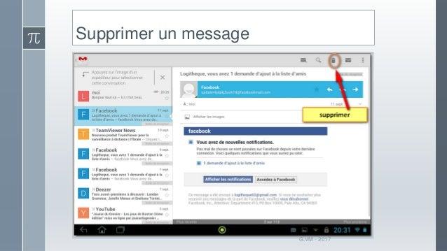 se déconnecter de gmail sur tablette